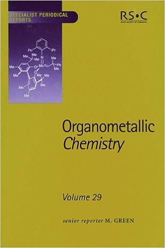 Télécharger depuis google books en ligne gratuitement Organometallic Chemistry: Volume 29 (Specialist Periodical Reports) PDF 0854043284