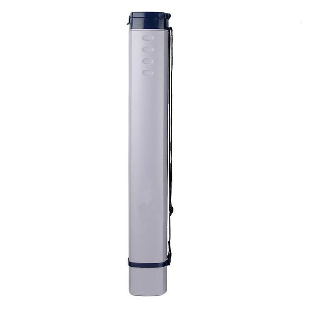 Document Blueprints Artwork Expandable Tube Square Painting Storage Tube-White George Jimmy
