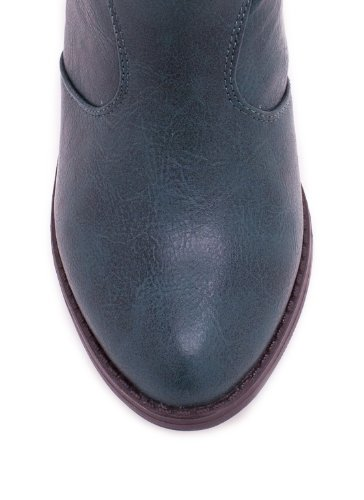 Stivaletto Cowgirl In Similpelle 6 Verde
