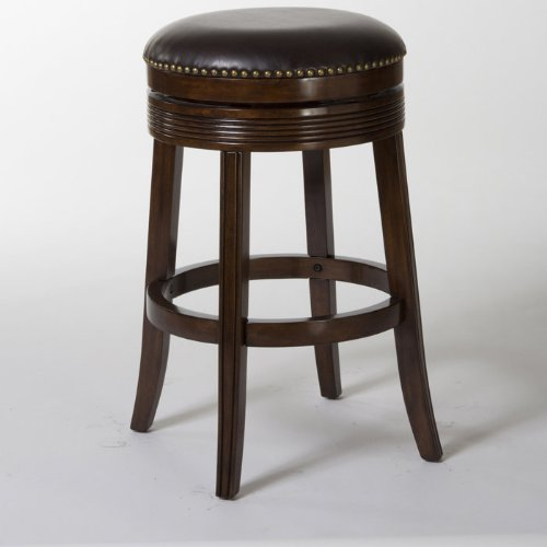 Hillsdale Furniture Tillman Brown Cherry Backless Swivel Counter Stool