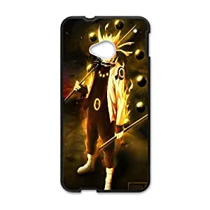 Naruto 017 HTC One M7 Cell Phone Case Black Custom Made pp7gy_3340606