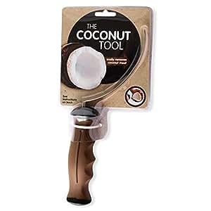 Amazon.com: The Coconut Tool Cuchillo de acero inoxidable ...