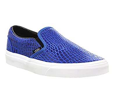Classic Slip-On Women US 7.5 Blue Skate Shoe