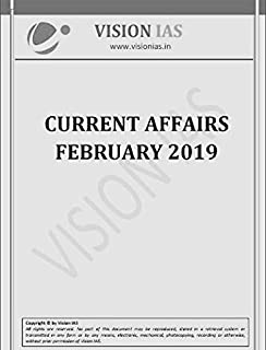 Buy Vision IAS Current Affairs March 2019 [English