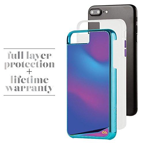 Case-mate Plus humeur Changement de couleur métallique Boutons protection anti-rayures Coque pour iPhone 7S
