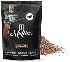 nu3 Fit Muffins - 240g de mezcla lista para hornear magdalenas de ...