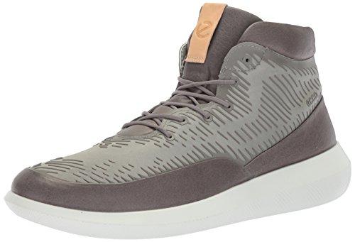 ECCO Mens Scinapse Premium High Top Fashion Sneaker Wild Dove/Wild Dove hxTYIs2M