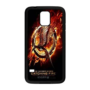 T-TGL(RQ) Samsung Galaxy S5 I9600 Custom Phone Case The Hunger Games Catching Fire with Hard Shell Protection