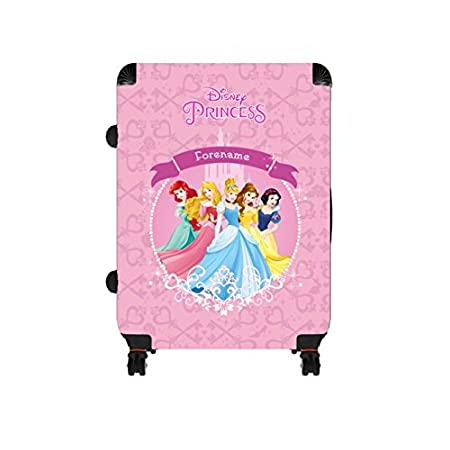 Official Personalised Disney Princess Group Large Suitcase: Amazon