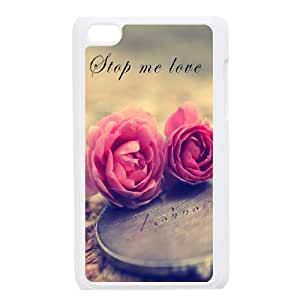 Beautiful flowers Custom Cover Case for iPod Touch 4, Custom Beautiful flowers Cell Phone Case