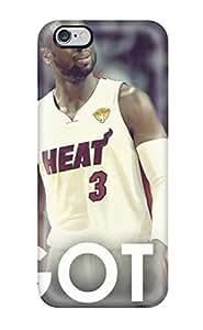 Fashion Protective Nba Lebron James Beat Dwyane Wade Chris Bosh Miami Heat Case Cover For Iphone 6 Plus