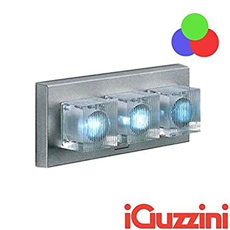 iGuzzini bc26 Glim Cube LED RGB cambia color aplique pared exterior Outdoor