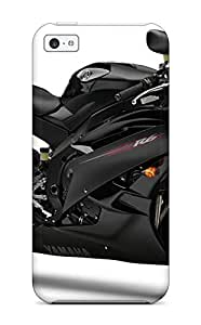 Hot Tpu Cover Case For Iphone/ 5c Case Cover Skin - Yamaha Motorcycle
