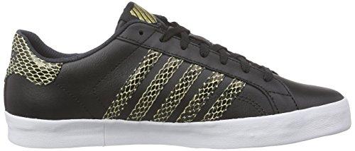 K-Swiss Belmont So Snake Women US 9.5 Black Sneakers 3El3H
