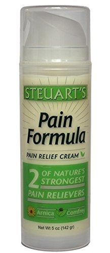 Steuart's Pain Relief Cream | Natural Pain Management | Arthritis Pain Relief | Muscle Pain | Back Pain | Joint Pain | Natural Pain Cream | Free -