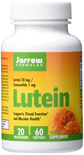 Jarrow Formulas Lutein, Supports Visual Function, 20 mg, 60 Softgels