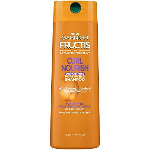 uctis Triple Nutrition Curl Nourish Shampoo, 12.5 Fluid (Garnier Fructis Fortifying Shampoo)