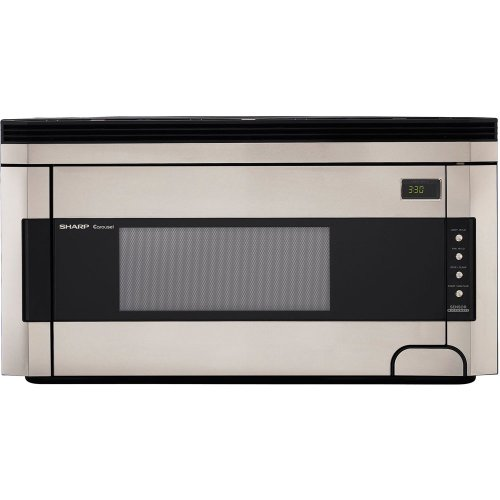 Sharp R-1514 1-1/2-Cubic-Foot 1000-Watt Over-the-Range Microwave, ()