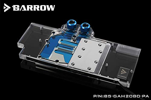 Barrow LRC 2.0 Full Coverage GPU Water Block for Gamer RTX2080