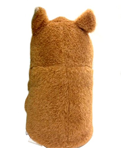 ENTOY Talking Hamster Sound Repeating Plush Interactive Toys for Baby Brown