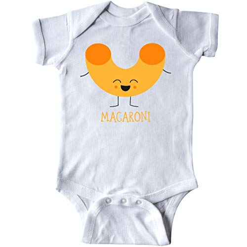 inktastic Macaroni Costume Infant Creeper 6 Months White]()