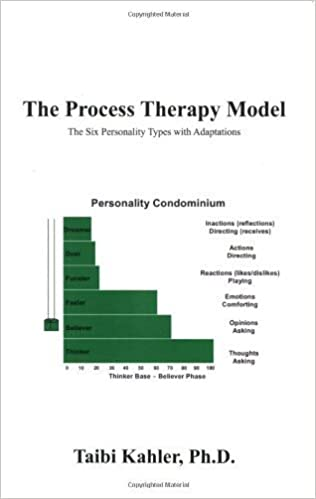 Book The Process Therapy Model: The Six Personality Types with Adaptations by Taibi Kahler Ph.D. (2008-06-01)