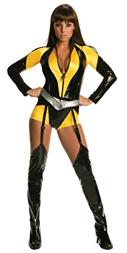 Secret Wishes The Watchman Silk Sceptre Costume, Yellow, XS (2/4) ()