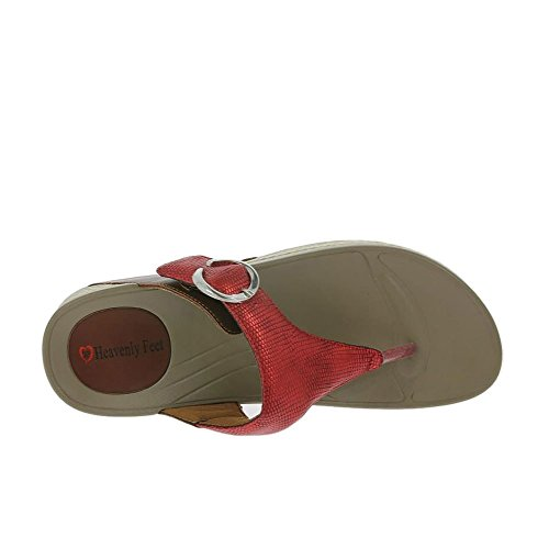 Sandali Feet 80 Red Heavenly 7010 Rosso Roxy Womens FYwqnC