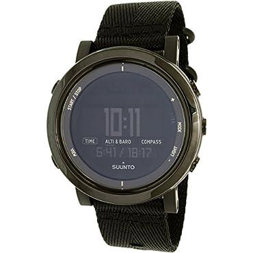 Suunto Men's Essential SS022438000 Black Nylon Swiss Quartz Watch