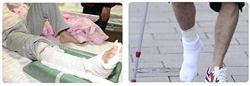 CXHMY Zehentrenner, Protectors Big Toe Stretcher Postoperative Rehabilitationsschuhe, Laden von Heilschuhen, Gipsschuhe für Chirurgie, ältere Schuhe, Mm