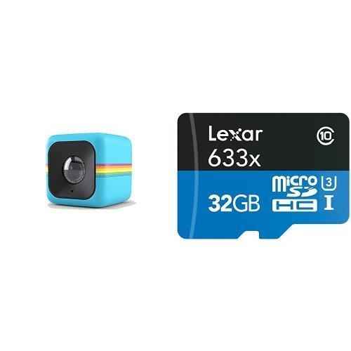 اسعار Polaroid Cube HD 1080p Lifestyle Action Video Camera (Blue)[Discontinued by Manufacturer]