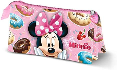 Minnie Mouse Yummy-Estuche Portatodo Triple: Amazon.es: Equipaje