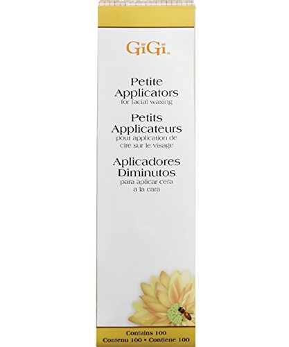 GIGI Honee Wax Applicators, Large, 100 Count GG-410