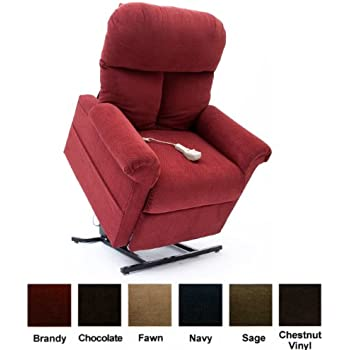 Easy Comfort LC-100 Infinite Position Lift Chair - Brandy