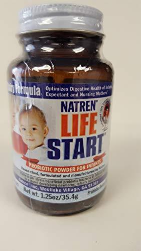(Natren Life Start (Dairy) - Two 1.25 oz. Bottles (Powder))