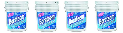 Borateem Color Safe - Borateem 00145 5 gallon Chlorine-Free Color Safe Laundry Bleach Pail (4-(Pack))