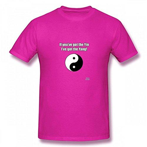 LNAUC Yin Yang Funny Saying Tshirt Printed Cotton T-Shirts Tops Logo Original Men's Tee - Shipping India In With Online Shopping Free