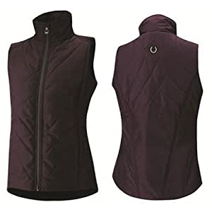 Irideon Crossrail Quilted Vest - Ladies - Size:Large Color:Saddle