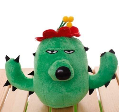 Plants Vs Zombies 2 PVZ Figures Plush Baby Staff Toy Stuffed Soft Doll (Cactus)