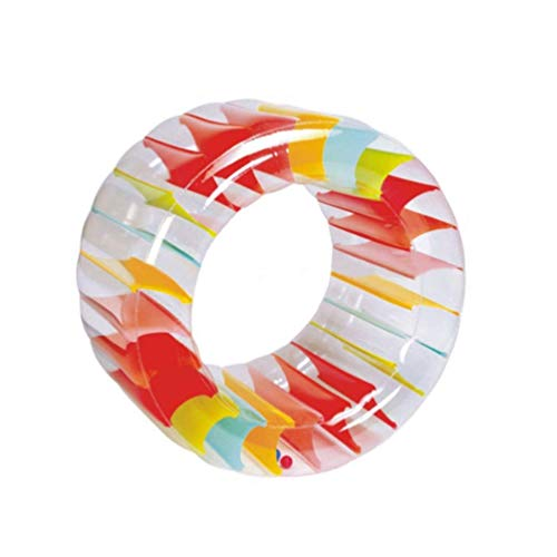Giant Tire Donut Pool Floats Multifunctional Crawling Water Inflatable Roller Toy Swimming Ring Summer Portable Swimming Pool Beach Floating Pool Decoration Adult Children Couple Outdoor Party Fun Toy