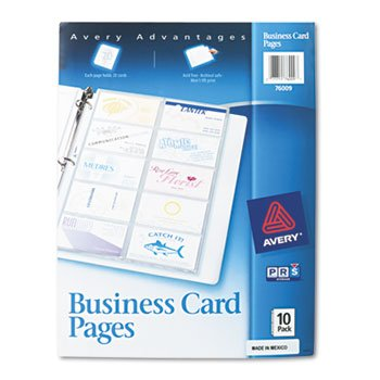 Amazon business card binder pages 20 2 x 3 12 cardspage 10 business card binder pages 20 2 x 3 12 cardspage colourmoves