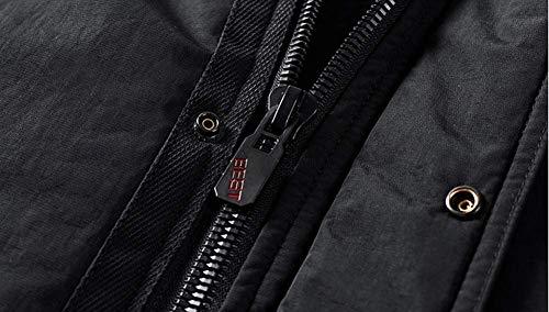 Coton Vêtements Vert Coupe Fourrure Blousons Veste Épaissir Col 7PwnpSq5