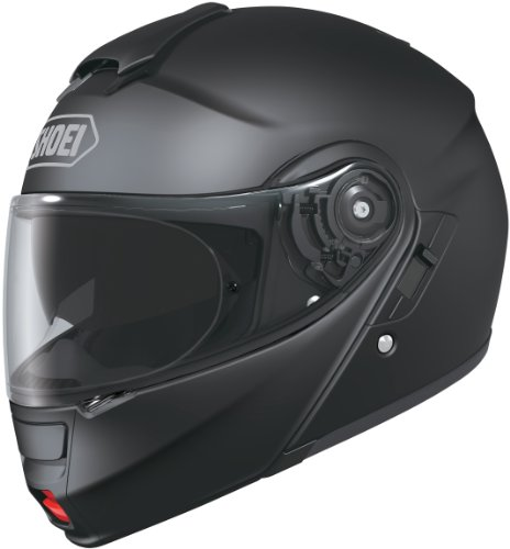 Shoei Solid Neotec Modular Motorcycle Helmet - Matte Black/Large