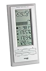 Wireless Weather Station Faktum White-Silver