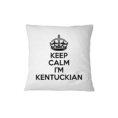 Keep Calm, I'M Kentuckian Kentucky Sofa Bed Home Decor Pillow Cover