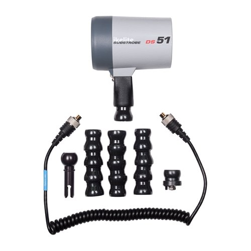 Ikelite Diffuser (Ikelite 4044.4 DS51 Strobe Flash Package with Flex Arm and TTL Sync Cord (Clear))