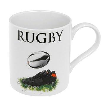 Les Delp99888 Amateurs Porcelaine Pour Parfait – Cadeau Rugby Mug New En Le cKJTlF1