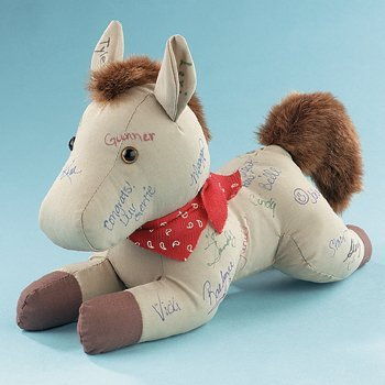 Western Brown Autograph Horse ()