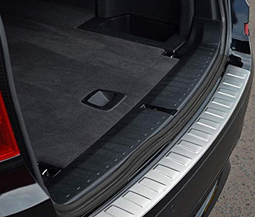 de Acero Inoxidable Cepillado 2019 Chromeline Protector de Parachoques Trasero Cromado Cromado para Opel Mokka 2012