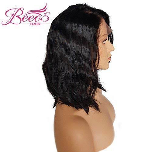 Buy human hair womens short wigs